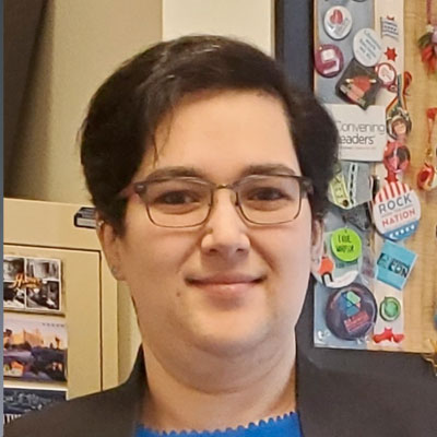 Alicia Navarro is a confrence services content & technology coordinator at the American Library Association.